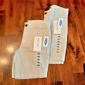 Old Navy Kid's Khaki Shorts - Lot of TWO - Various